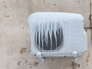 commercial air conditioner freezing